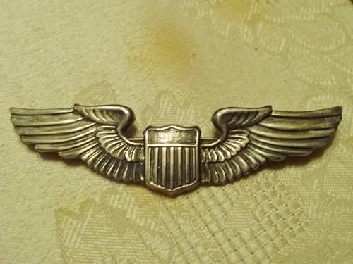 WW2 Pilots wings?
