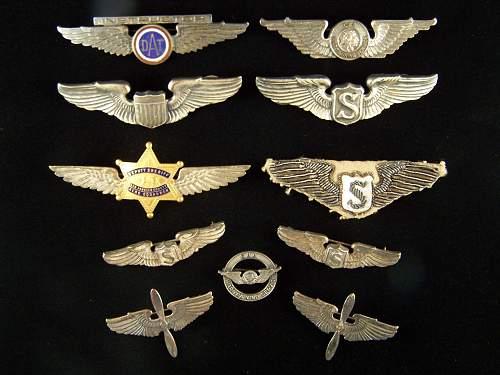 "US Aviation Wings  3"""