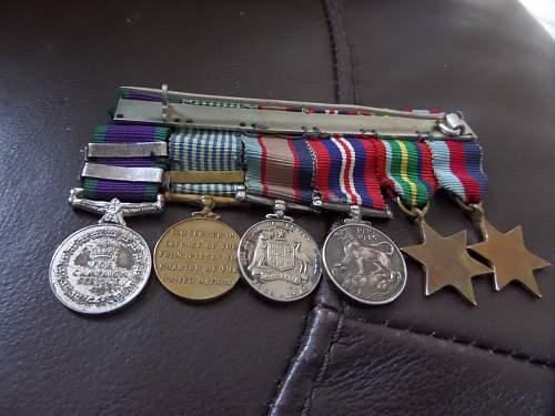 Interesting Australian medal group