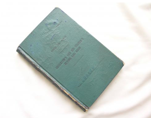 WW2 Bomber Command grouping + Log Book.