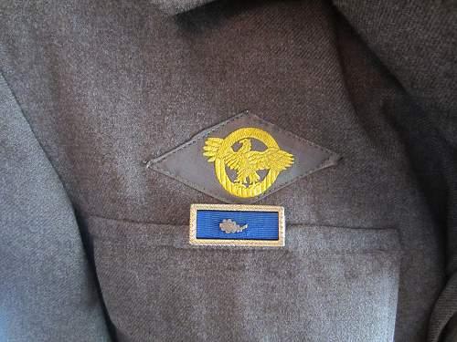 Presidential Unit Citation with Oak Leaf