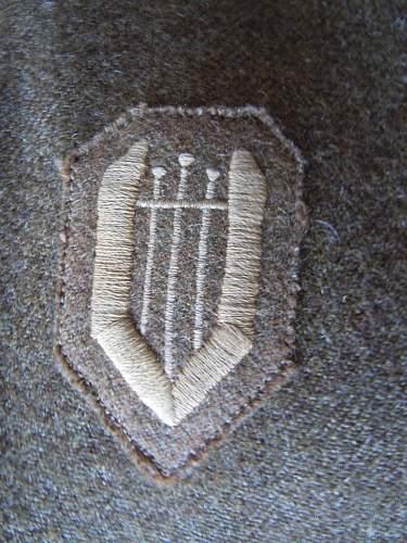 WWLLExile Czech Military Badge