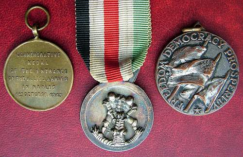 allied liberation of Rome medal..any thoughts or opinions?