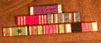 US Ribbons Identification