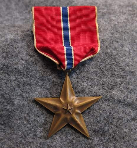 WW2 Bronze Star