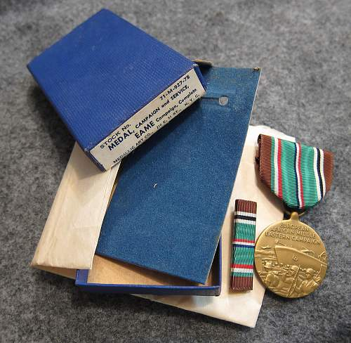 Europe, Africa, Middle East Campaign Medal - Medallic Art Co.