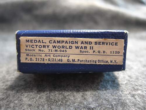 Victory World War II (WW2) Medal - Medallic Art Co.