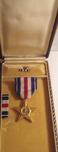 Silver Star Medal and Box for opinions