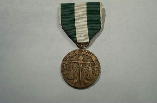 Phenix City Alabama Campaign Medal