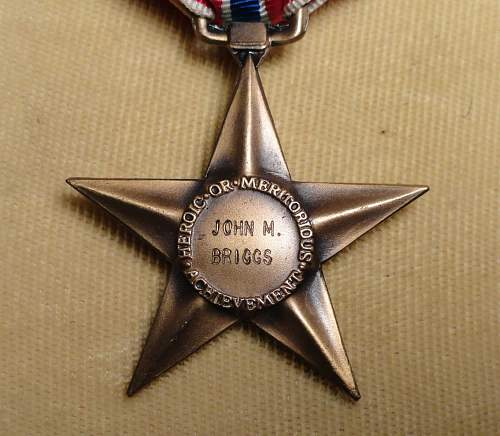 Bronze Star Engraving - Is there a trick to telling if it's official?