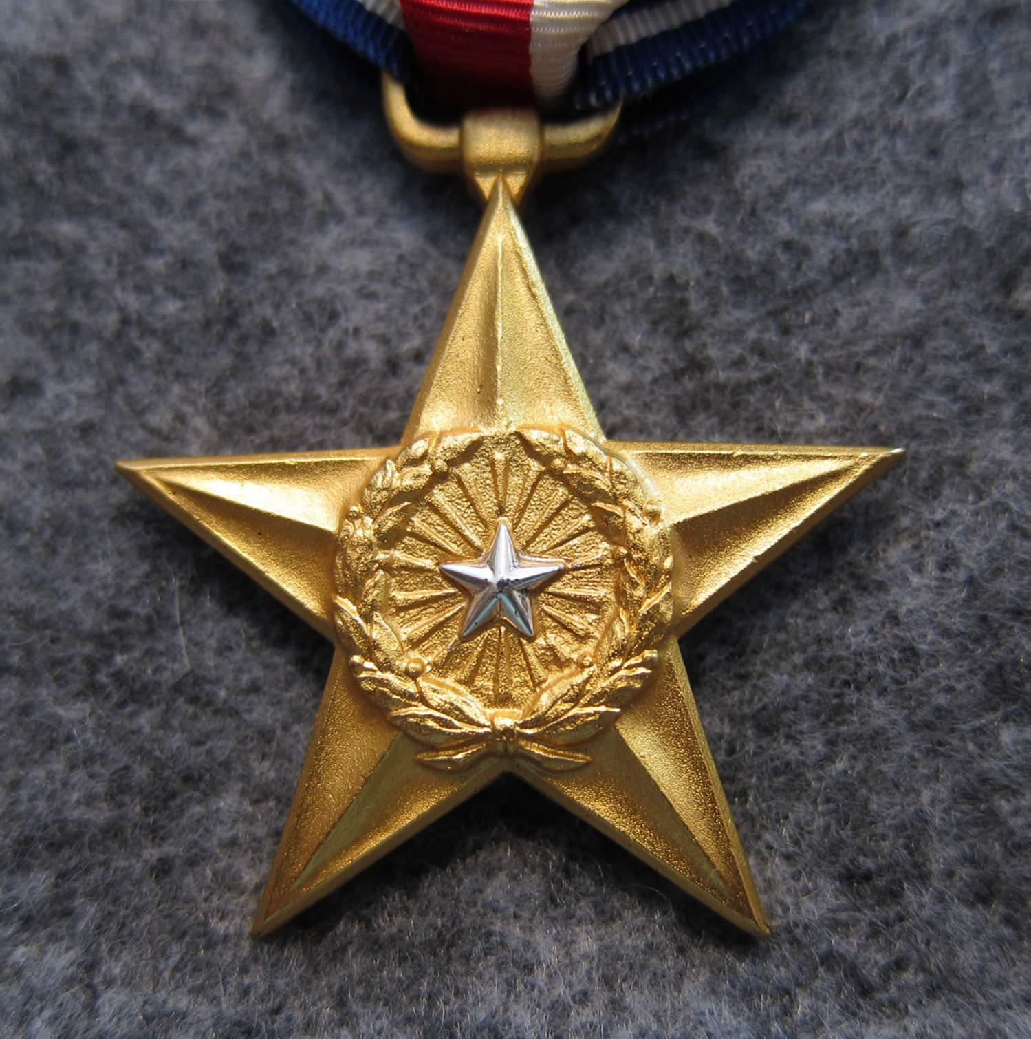 Us silver star medal numbered for review