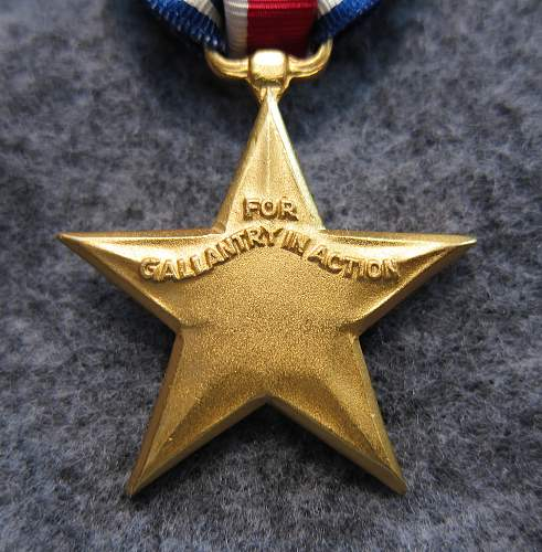 US Silver Star Medal - Numbered for review