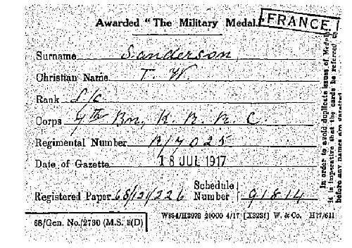 family medal sold at auction