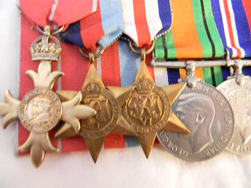WWII Group to a Life Guards officer