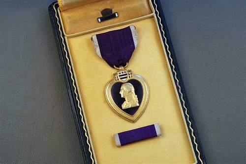 Real WWII purple heart????