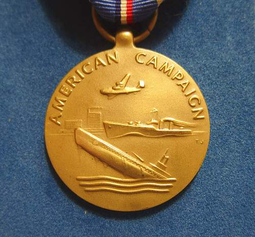 U.S. American Campaign Service Medal - Heckethorn MFG & Supply Co