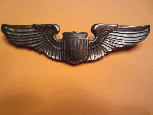 Sterling Pilots Wings