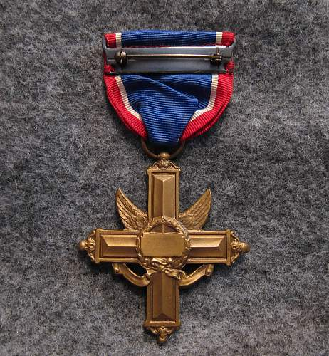 U.S. Army Distinguished Service Cross - WW2 numbered