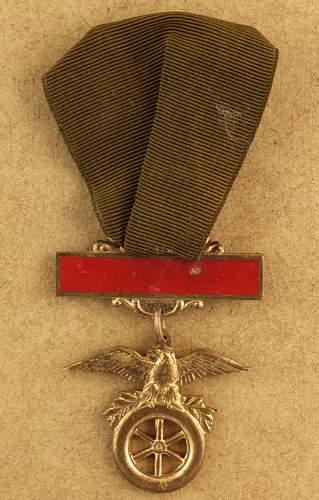 U.S. Driver Medal?