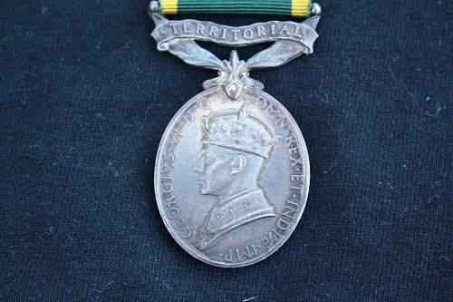 Territorial medal
