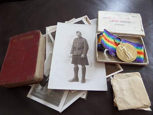 Royal Scots ww1 medal pair fea market find