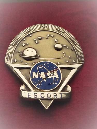 Nasa Badges