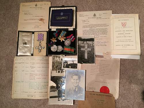My medal acquisitions this year Pt 2 RCAf DFC group 2