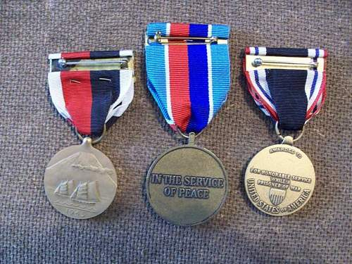 I bought these medals..are they original? Fake?