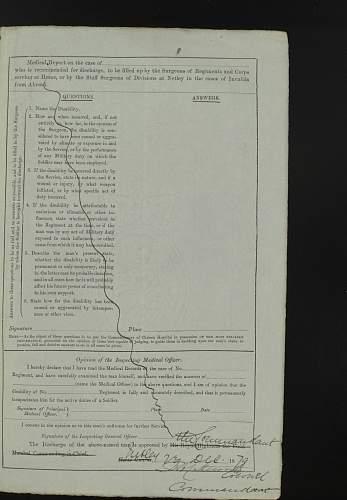 Long Service Good Conduct Medal, Crimean War period 15th HUSSARS