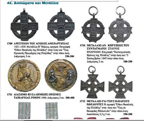 Greek 3rd Mountain Brigade Award
