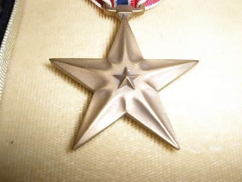 Bronze star ww2