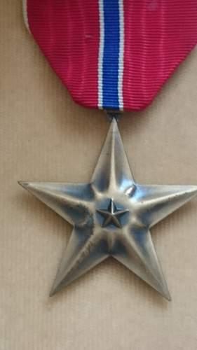 2 Bronze star pick ups