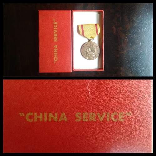 WW2 China Service Medal ???
