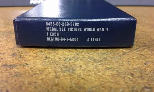 United States World War 2 Victory Medal NIB post war