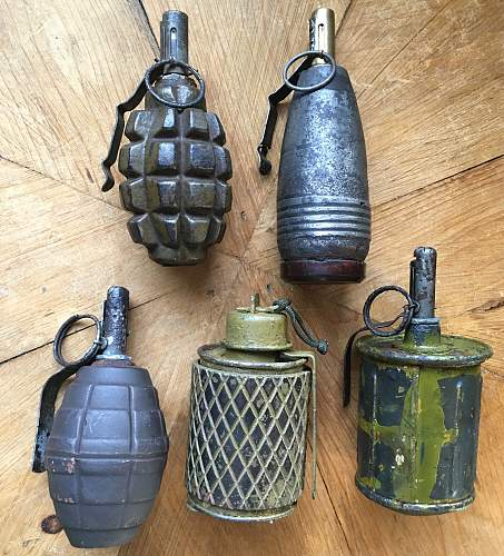 Some new grenade adds and group pics