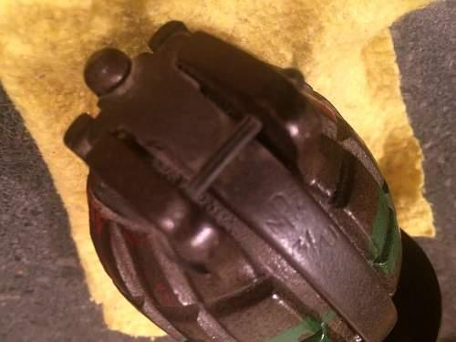 1941 NZ Mills Grenade