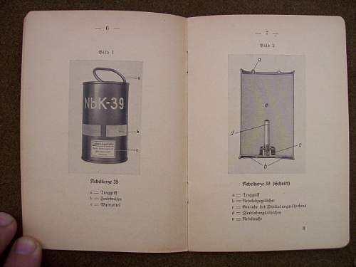 German smoke Grenade Manual