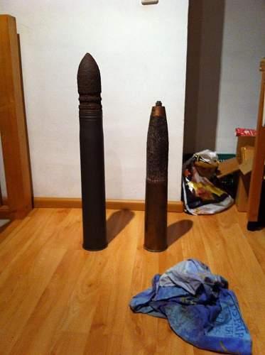 8.8 cm PzGr 39 vs Brittish 25 pr smoke