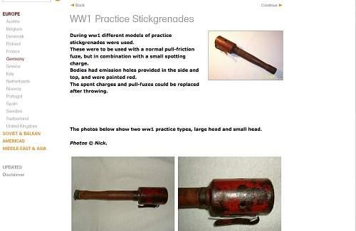 WW1 smoke grenade perhaps? Need help-