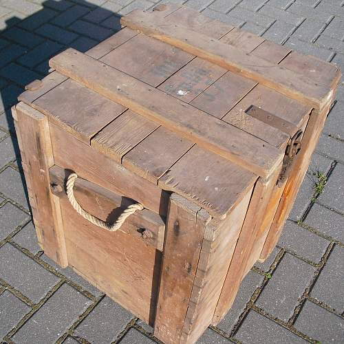 Crate for 10l Chemical weapon.