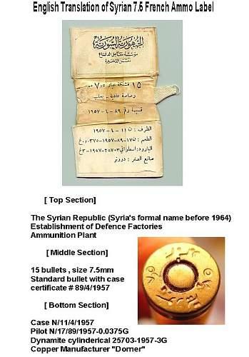 7.5 French    Syrian Box Translation