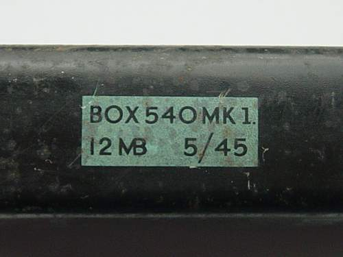 Click image for larger version.  Name:Signal flares tin date and makers mark..jpg Views:252 Size:152.6 KB ID:109220