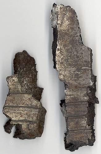Help needed to identify flak fragments?