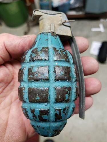 MKII Hand Grenade HELP Practice Grenade / Value
