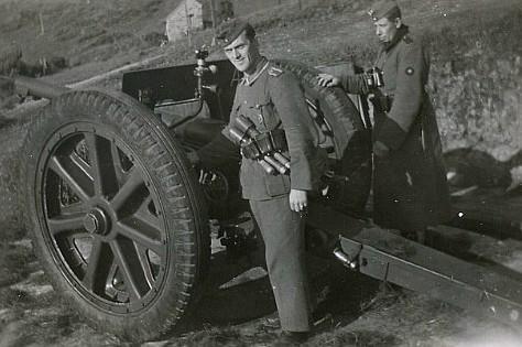 WW1 French '75' Round
