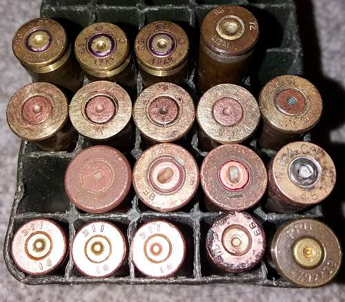 A Growing Collection of Cartridge Cases & Inert Rounds
