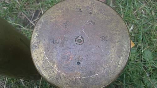 WW1 M16 Field Gun Shells