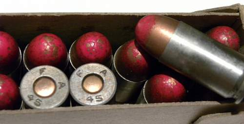 45 tracer ammo 1945 dated