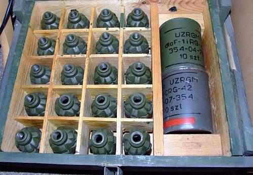 Polish F1 'Limonka' grenade