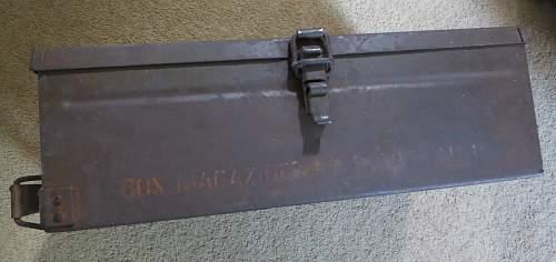 bren gun magazine box